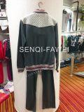Hombre Fleece con capucha para juegos de la ropa con los pantalones Fw-8658