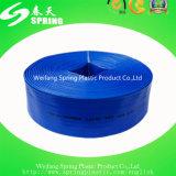 Высокий шланг давления положенный PVC плоский