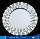 Franelessの装飾的な二重上塗を施してある銀製ミラーか綴りミラーまたは安全ビニールミラー
