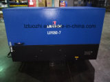 Los patines de Copco Liutech 180cfm del atlas montaron el compresor de aire diesel