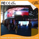 Hongguang P6는 주조 알루미늄 중국 공급자에게서 실내 임대료 LED 스크린을 정지한다