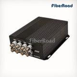 Vídeo 8CH Tx transmissor e receptor de vídeo óptico (FR310-8EPV/R)