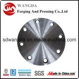 Flange cega de aço de carbono A105 da classe 150/300 do ANSI B16.5