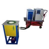 Fornalha de derretimento industrial de derretimento da máquina 60kw da indução portátil do baixo preço