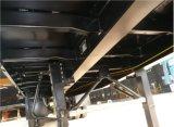 semi-remorque à plat 3axles (noir) de 40FT pour de longs véhicules