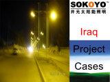 Cas solaires de projet du Lumière-Irak de Lumière-Maïs de rue