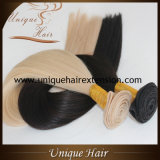 Уток волос Remy наградного качества европейский