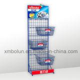 Heiße Verkaufs-Kessel-Metallbildschirmanzeige-Zahnstange für Einzelhandelsgeschäft und Supermarkt