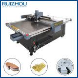 CNCの振動のナイフの本革の切断機械2