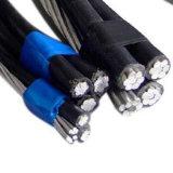 Conductor aislado XLPE de arriba de la aleación de aluminio del cable del ABC 0.6/1kv