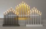 17 cores internas claras da decoração 3 do Xmas da ponte da vela do Natal