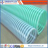Tubi flessibili flessibili a spirale di aspirazione dell'acqua del PVC da 3 pollici