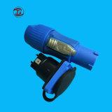 Водонепроницаемый разъем кабеля сварки светодиодный дисплей штекер разъема