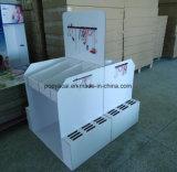 Constructeur professionnel d'étalage de carton, étalage de palette de bruit avec l'impression de Cmyk appropriée aux outils, étalage de papier de palette