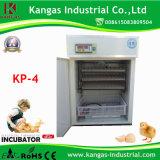 Mini incubateur automatique de Digitals certifié par CE pour 264 oeufs pour la ferme avicole