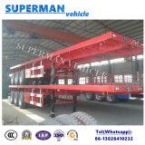 40FT equipamento de transporte de carga de mesa semi reboque