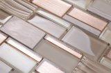 Q002 Nuevo estilo transparente de cocina popular mosaico Splash Back