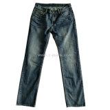 Los hombres vaqueros Straight Classic 5 Pocket Denim Jeans