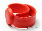 Braccialetto di HF di stampa del silicone RFID del Wristband di schiaffo di Ntag213 NFC