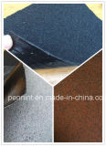 Membrane imperméable à l'eau de bitume auto-adhésif de film de PE du matériau de toiture 4mm