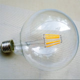 Bulbos redondos do diodo emissor de luz do vintage de Dimmable 4W do bulbo do globo de E27 G125 grandes com SAA