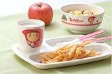100 % de la mélamine vaisselle- Kid's vaisselle plaque Four-Divided (BG802)