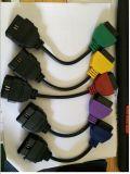 Adaptadores de leitura da ECU do cabo de diagnóstico OBD cinco cores