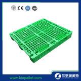 Gran Estante perforado el Reciclaje de palets de plástico de HDPE para la industria (48X40 pulgadas)