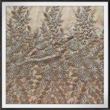 網の刺繍のレースにある調子を与えるナイロン網の刺繍のレースの調子