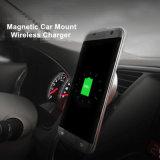 Suporte sem fio magnético universal do carregador do carro do telefone móvel