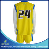 Uniformi Sporting di pallacanestro della squadra su ordinazione di sublimazione