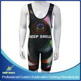Personalizar la sublimación de los hombres Tank Top Premium Camiseta de lucha libre