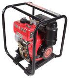 빨간 디젤 엔진 수도 펌프 고정되는 휴대용 수도 펌프 (JT-80CBZ22-4.0B)
