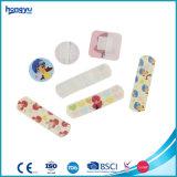 Bandage différent de PE de dessin animé de taille dans le cadre de bidon pour le soin de gosse