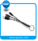 Durable Hot Selling 2 in 1 Micro and Lightning DATA Charging Cable for Cell Phone