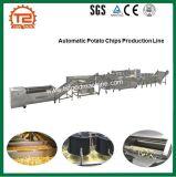 Máquina de las patatas fritas y cadena de producción automáticas