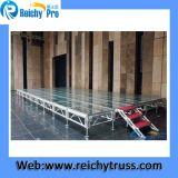 Estágio ajustável do estágio movente antiderrapante da plataforma do estágio