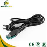 RoHS 12V Anschluss-Datenleitung USB-Energien-Kabel für Registrierkasse
