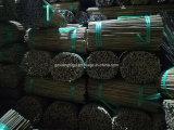 Varas de bambu U naturais com alta qualidade
