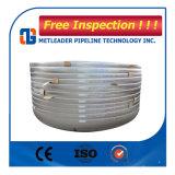 L'estremità del tubo d'acciaio protegge la protezione