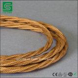 Круглый кабель тканья с сертификатами VDE RoHS Ce
