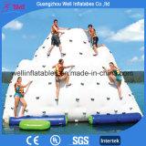 Giochi gonfiabili dell'iceberg di alta qualità che fanno galleggiare i giocattoli della sosta dell'acqua