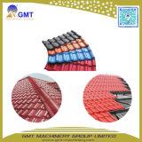 El PVC+PMMA/ ASA techado Vidriado coloreado de mosaico de la cresta de la máquina de extrusión de plástico