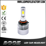 二重カラーT5 9005 LEDヘッドライトH7の変換キットの球根