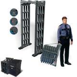 De zwarte Vouwbare Detector van de Veiligheid voor Veiligheidscontrole