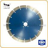 Azul de 230 mm disco de corte de la herramienta de diamante en seco la hoja de sierra de granito