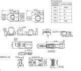De Schakelaar van het micro- USB 5m B van het Soldeersel voor Slimme Telefoon