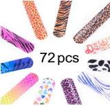Palmada en la pulsera plástica del vinilo con los modelos coloridos del diseño de la impresión para los niños