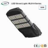 Modulares tipo LED 90W de luz de la calle con controlador Meanwell