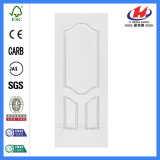 Adaptado de la puerta de contrachapado de madera blanca de piel (JHK-S06)